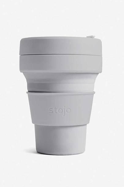 The collapsible travel mug