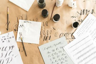 Get fancy with lettering classes