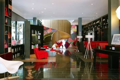 Lobby at CitizenM Bankside