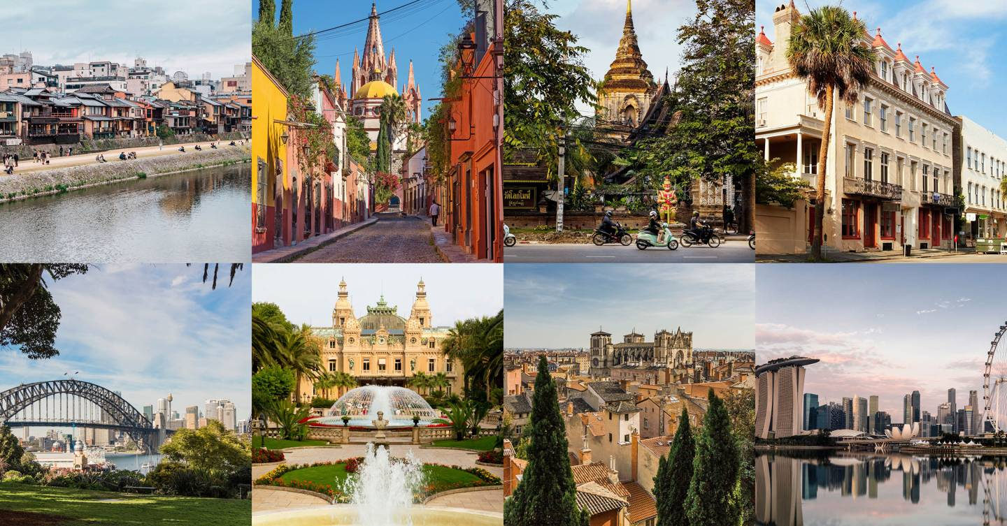 The best cities in the world 2020