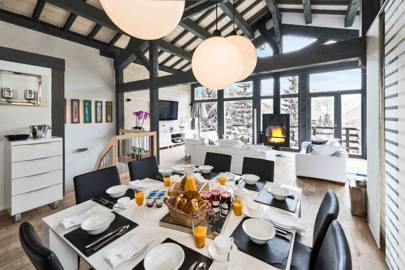 Chalet Le R and Chalet Bulle de Neige, Courchevel 1550 & 1850