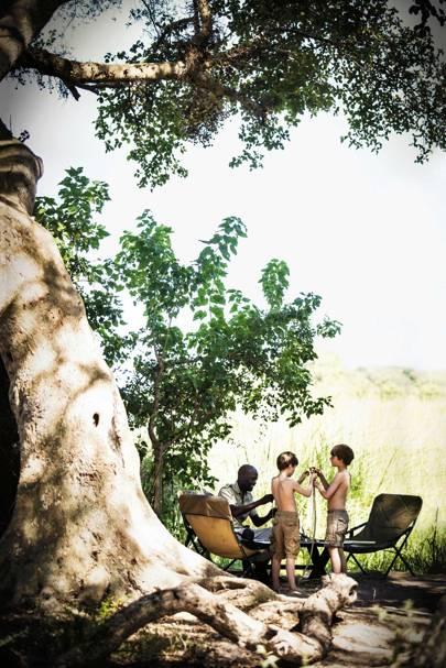 Footsteps Camp, Botswana