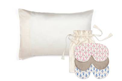 The silk pillow set