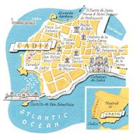 Where to stay, eat and drink in Cadiz