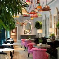Afternoon tea at Ham Yard Hotel