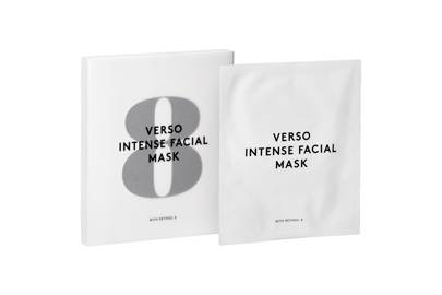 Intense Facial Mask with Retinol 8 by Verso
