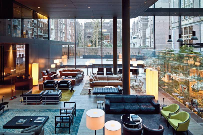 Best hotel restaurants in amsterdam cn traveller for Best luxury hotel in amsterdam
