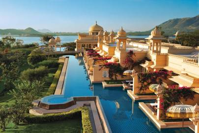 1. The Oberoi Udaivilas, Udaipur, India. Score 94.49