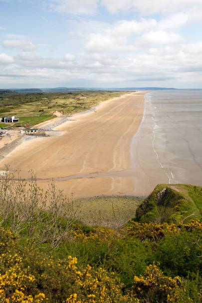 Ginst Point (Laugharne Sands), Carmarthen Bay