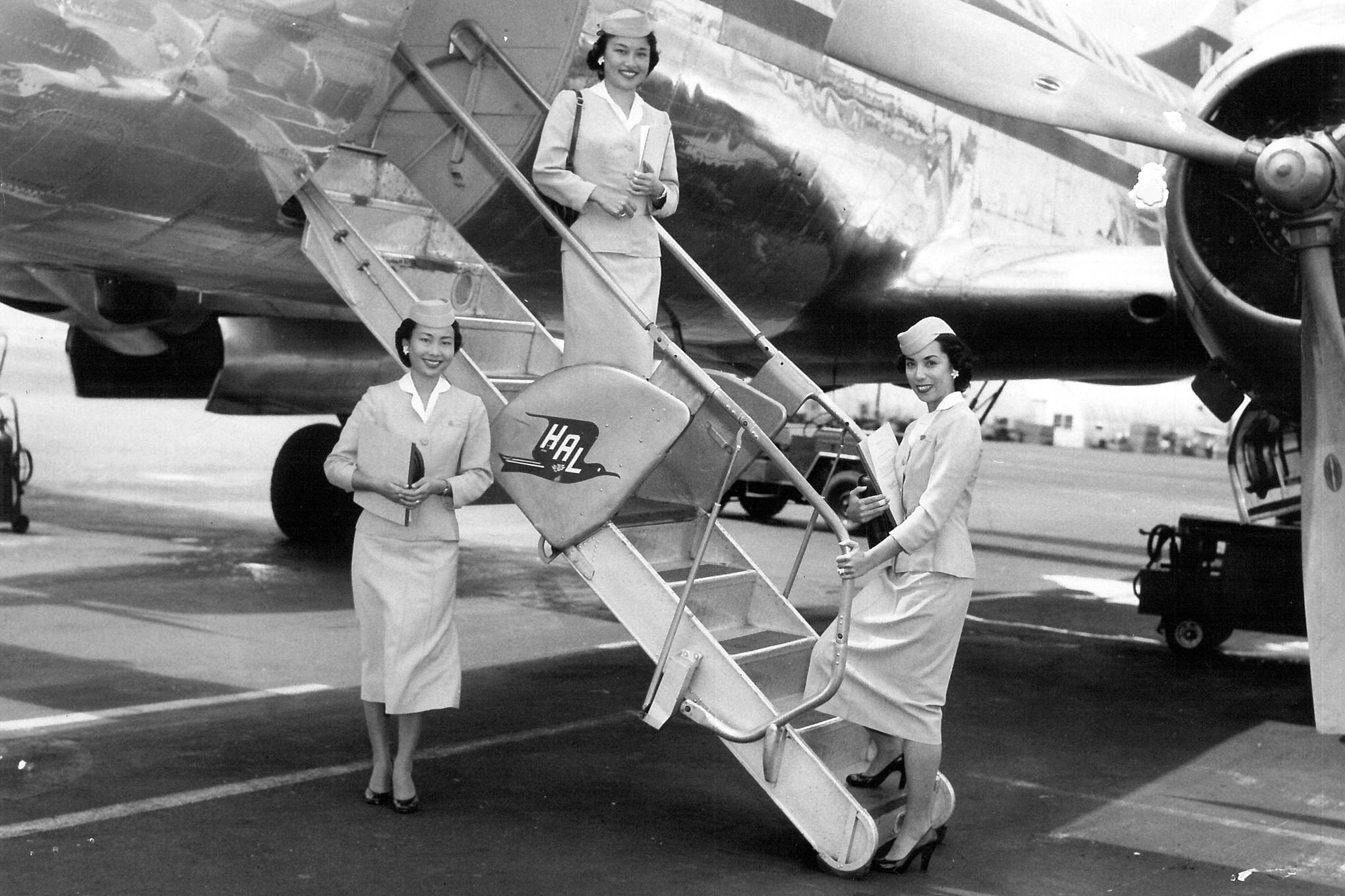 I was a flight attendant during the Golden Age of travel