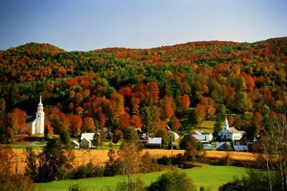Vermont, New England