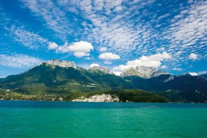 The Semnoz Mountains