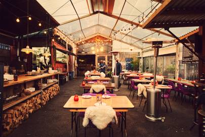 Dine and drink alfresco