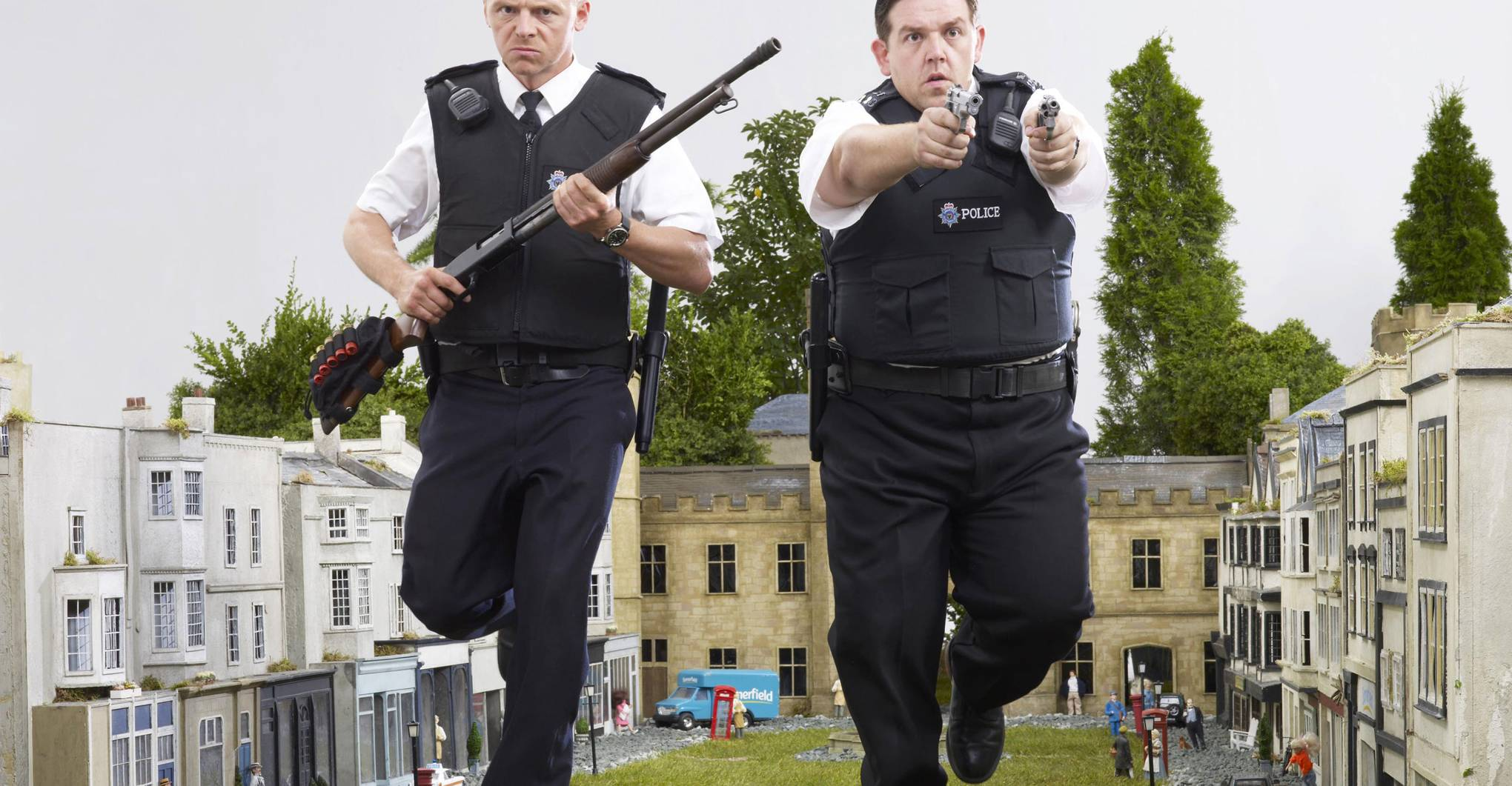 Where was 'Hot Fuzz' filmed?
