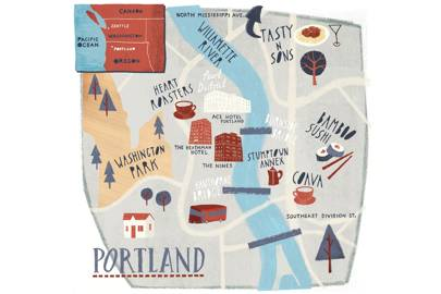 Where to stay, Portland