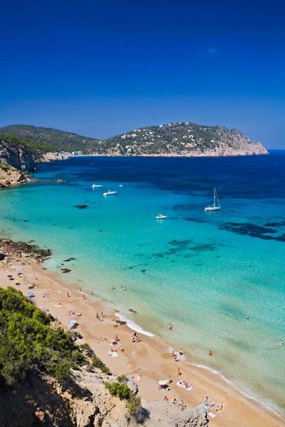 The Best Beaches In Ibiza Spain CN Traveller - Britains 15 best beaches