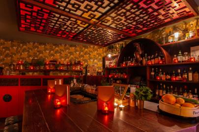 Peony bar at Opium, Chinatown