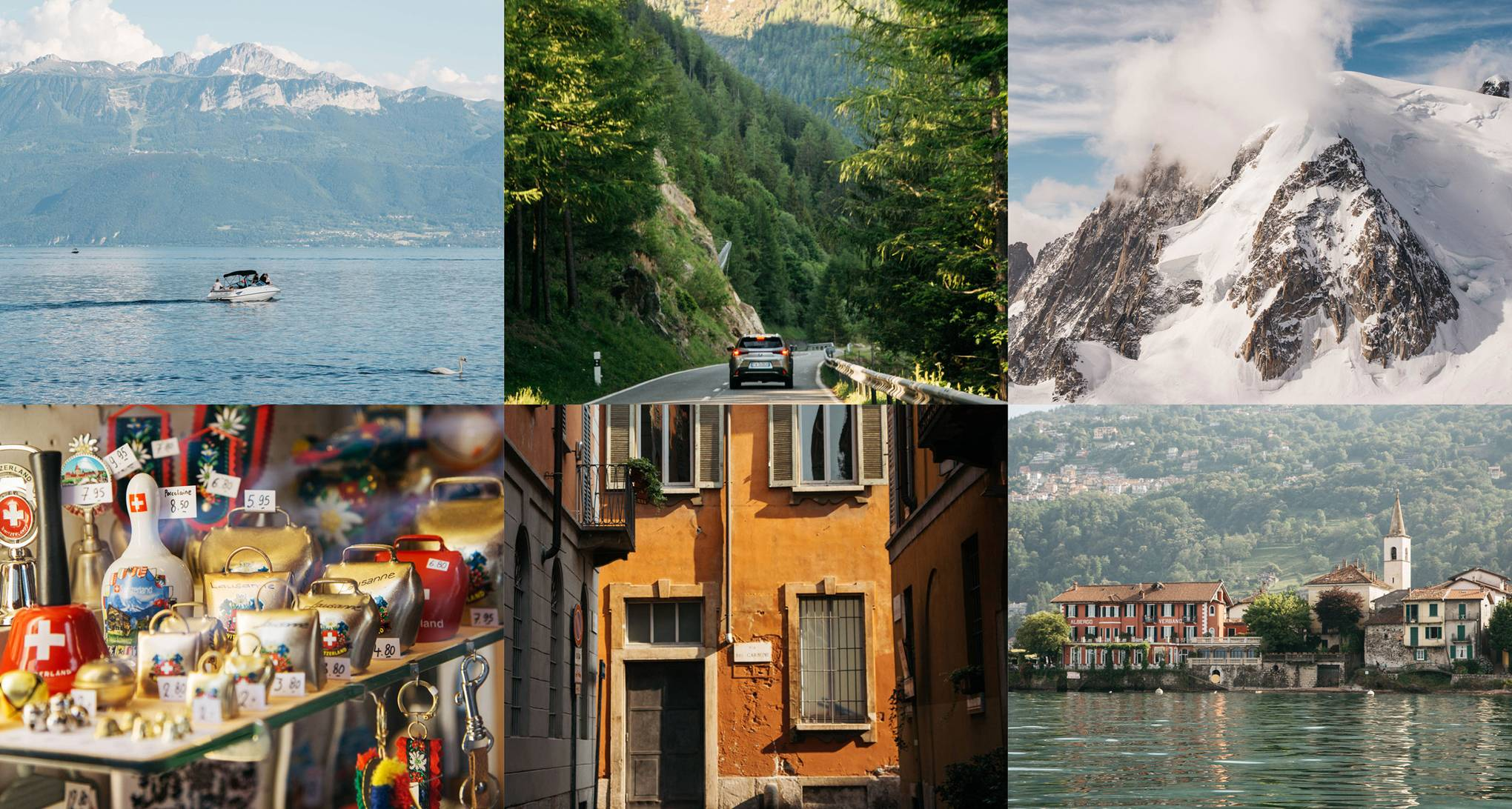 A road trip from Lausanne to Milan