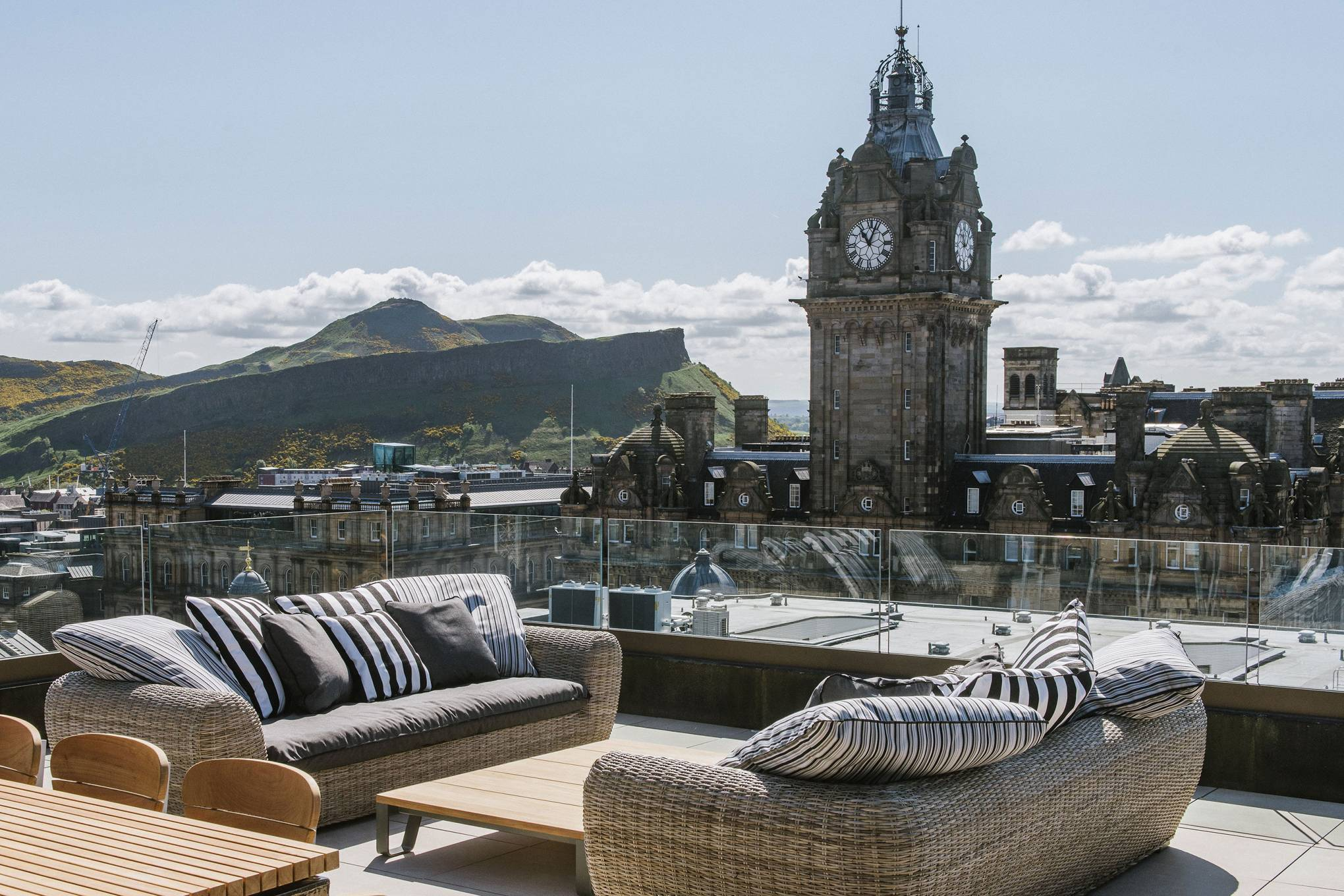 The Edinburgh Grand: some of the best views in New Town