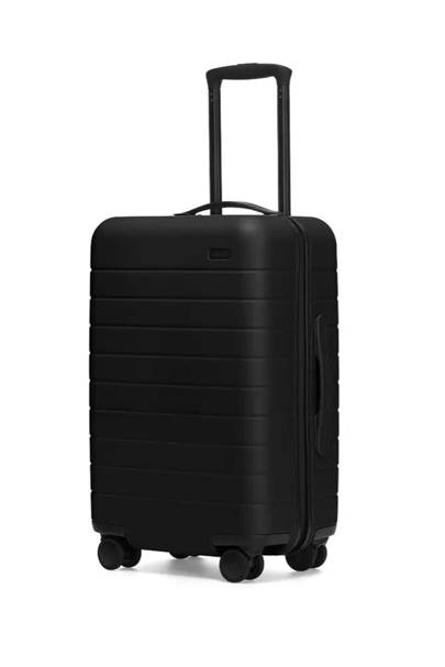Carry-on with built-in charger