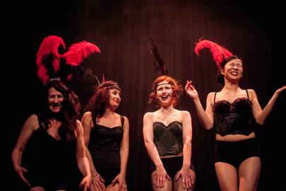 4. Flap with a cabaret at one of London's last remaining Victorian music halls