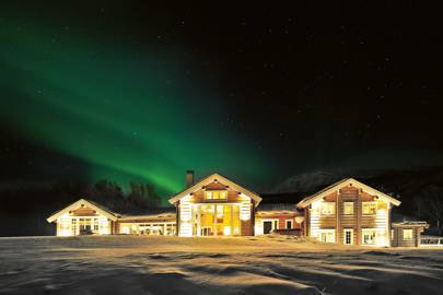 LYNGEN LODGE,  LYNGEN ALPS, NORWAY