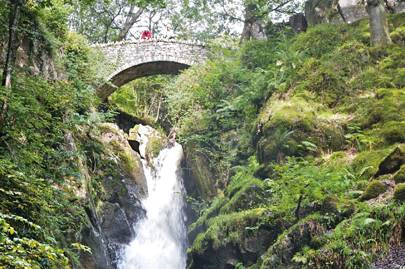 The Aira Force waterfall