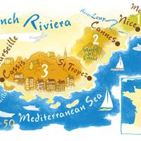 How to get to the Côte d'Azur