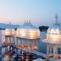 7. Taj Lake Palace Hotel, Udaipur, India. Score 88.35