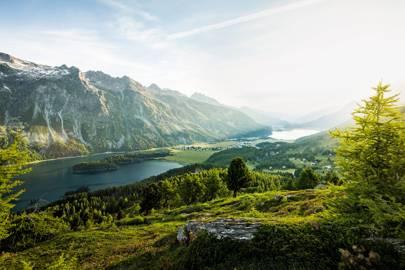 5. The Swiss Alps