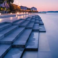 8. Zadar waterfront