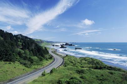 Cycling the Pacific Coast Highway