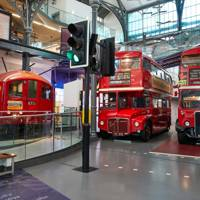 LONDON TRANSPORT MUSEUM, COVENT GARDEN