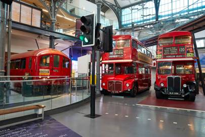 LONDON TRANSPORT MUSEUM, COVENT GARDEN