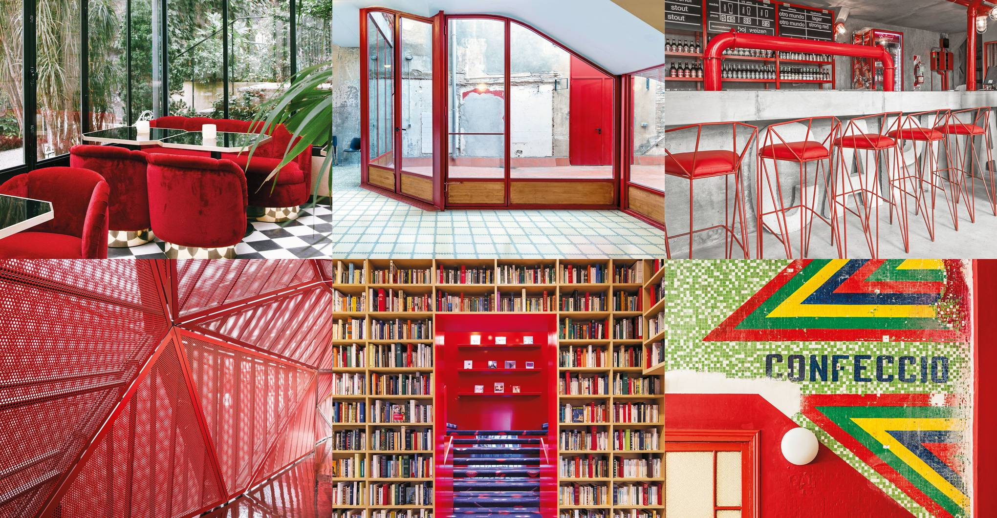 Red interiors: our favourite examples around the world