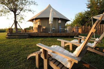 Glamping at Canonici di San Marco, Italy