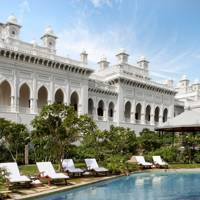 11. Taj Falaknuma Palace, Hyderabad, India. Score 83.14