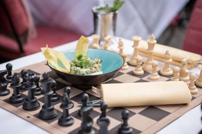 Ongoing: Combine chess and crustaceans