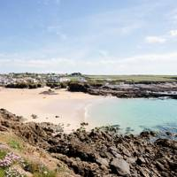 2. Trevone Bay Beach, Cornwall