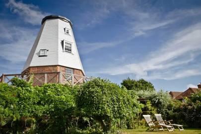 Restored windmill, Benenden