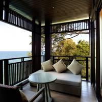 A balcony at Hotel Pullman Phuket Arcadia Naithon Beach