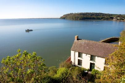 The Boathouse on the Taf Estuary