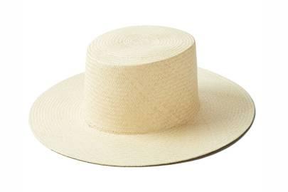 7. Boater hat