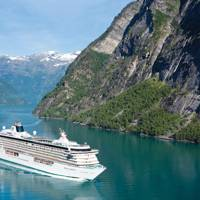 Best large ship cruise line: Crystal Cruises