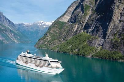 Best large ship cruise line: Crystal Cruises