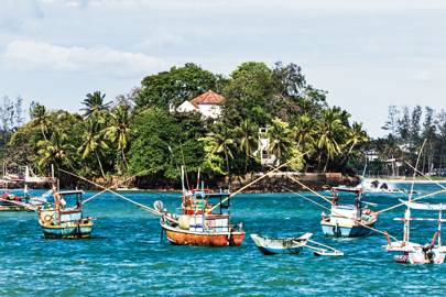 Taprobane Island, in Weligama, Sri Lanka