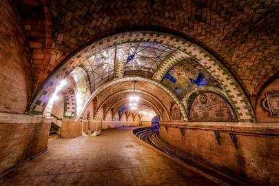 City Hall Subway, New York City, USA