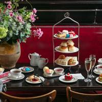 Afternoon tea at Balthazar London