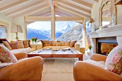 A FULLY CATERED CHALET WITH MATTERHORN VIEWS