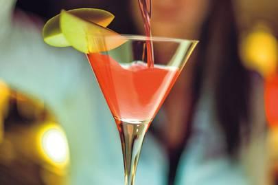 Cocktail at ME Barcelona